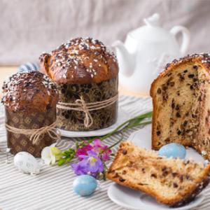 Pannetone, Pască, Biscuiți de Paște